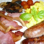 Organic farm english breakfast